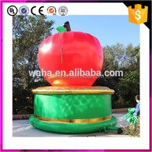 Giant advertising inflatable apple,custom made inflatable