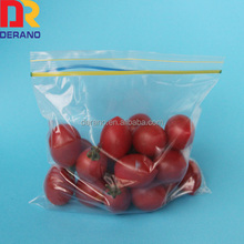 Hot Sale Custom Clear Waterproof Zip Lock Bag Zipper Bag Manufacturer/waterproof zipper bag