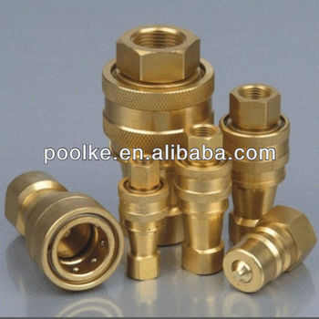 KZD Brass Hydraulic Quick Coupling