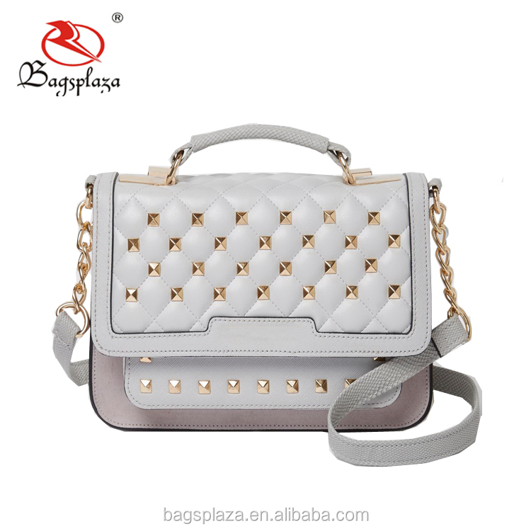 New product canvas strap quilted handbag OEM brand ladies beaded clutch bag purse