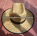 COWBOY HAT WITH BLACK BRIM FROM VIETNAM
