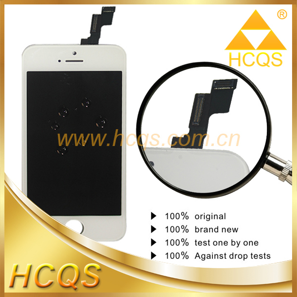Alibaba top seller display touch for apple iphone 5s lcd assembly digitizer tianma