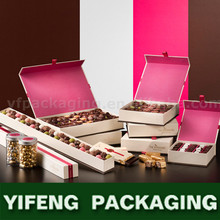 Custom food grade indian sweet gift packaging boxes