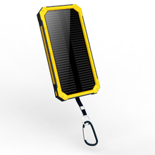 High quality dual usb power bank and 20000mah solar mobile charger rohs solar cell phone charger