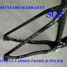 Full Carbon BSA/BB30 Carbon Fork Frame Mountain Bicycle, New Style Carbon Frames