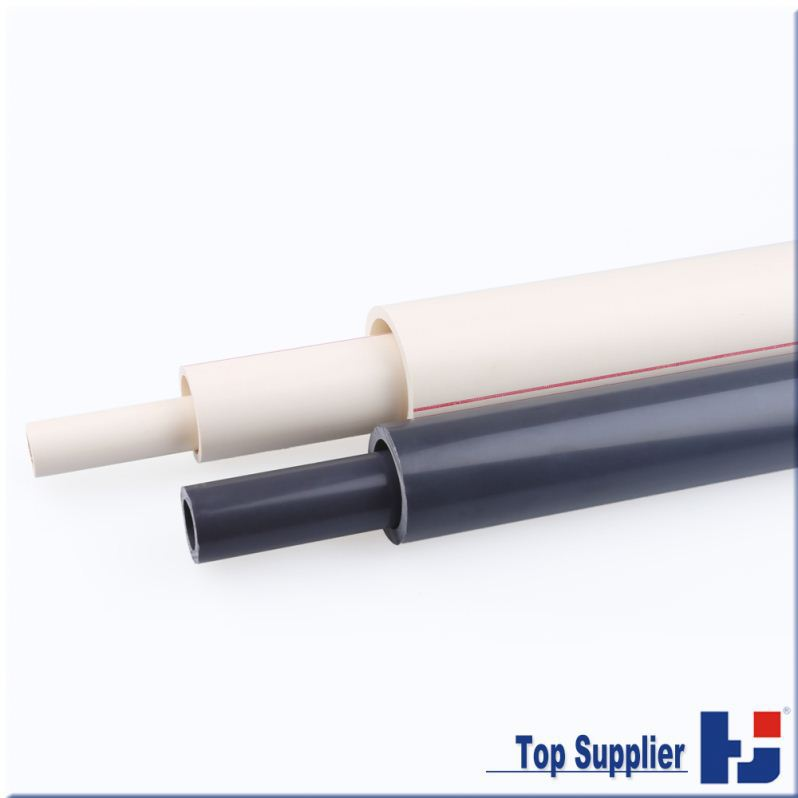 High quality factory manufacturing top supplier all types water system upvc pipe specification