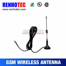 UHF VHF Wireless Digital Car TV Antenna With Magnetic Mount antenna TV Connector