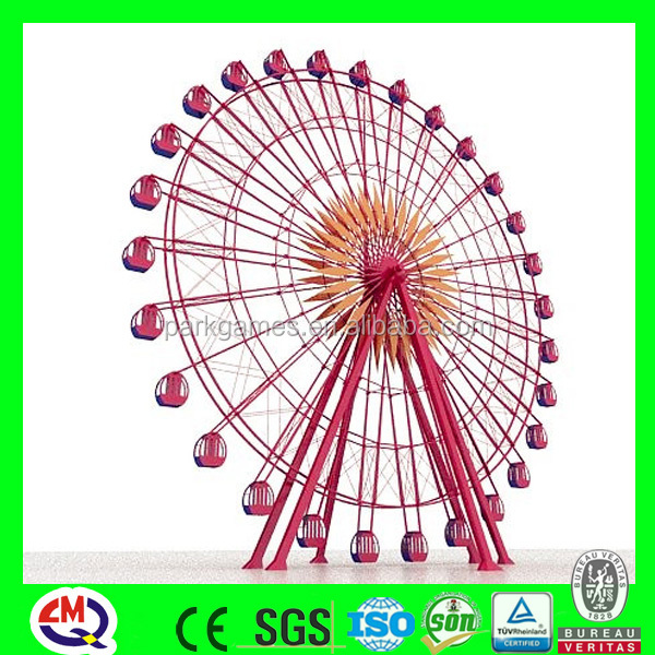 2016 new product game 42m ferris wheel for sale