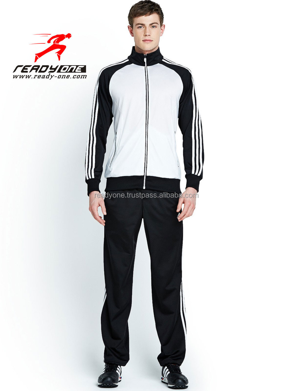 very cheap made in China customized jogging wear,college tracksuit,new style jogging suit