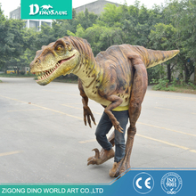 high quality waterproof material moving dinosaur costume,large realistic dinosaur