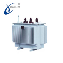 High efficiency three-phase oil-immersed 35kv Full-sealed 3150kva distributing transformer