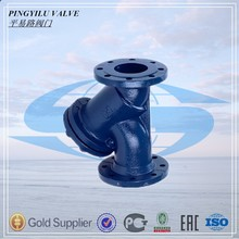 water oil pipe fitting dn50 pn16 strainer made in China