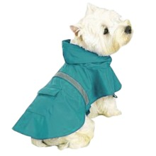 Wholesale Fashion Colorful Pink Waterproof Reflective Dog Raincoat Pets Raincoat