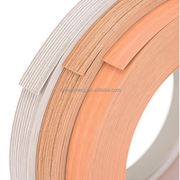 Wood grain color PVC edge tape for plywood funiture.