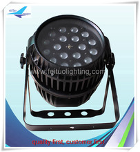 Professional 18x10w 4 in 1 Waterproof outdoor LED Zoom Stage Light Par Dmx-512 Lighting Laser Projector Party Club Pub KTV Dj