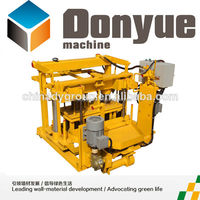 small scale industries machines/fly ash brick making machine in India price/wholesale concrete block suppliers