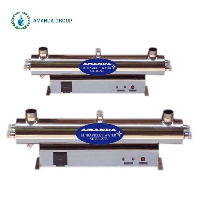 35GPM 304 SS housing UV light sterilizer for ro system ro plant