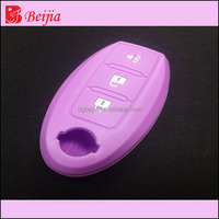 Hot sale high quality blank key ,key cover for 3,4 buttons remote key silicon rubber bag