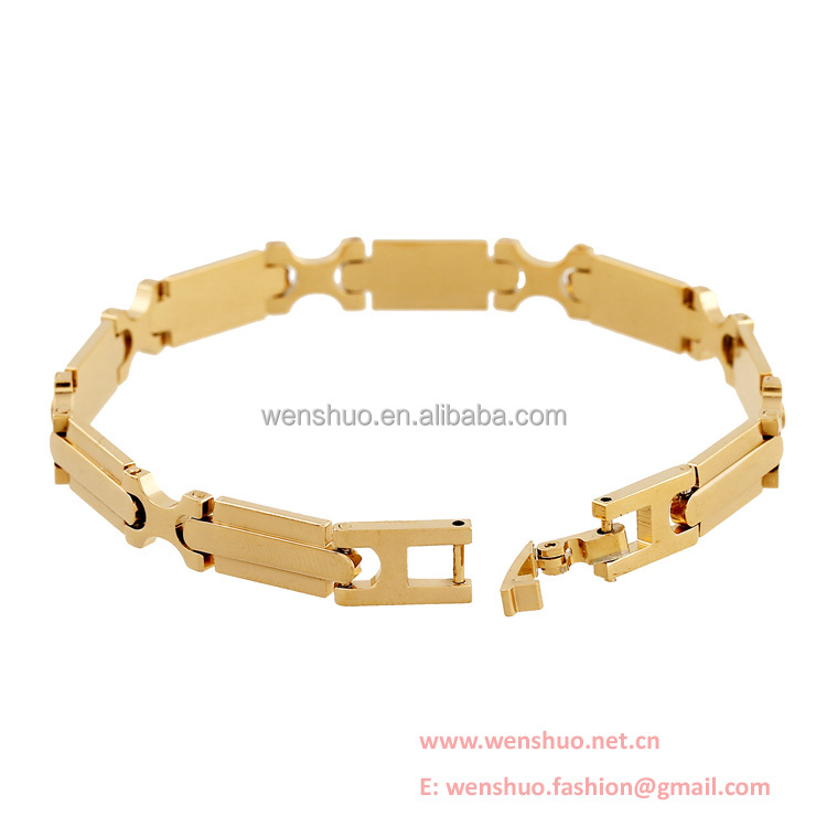 Euramerican Fahion Gold Watchband Design Lady Bangles