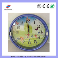 wall clock with multi photo frame