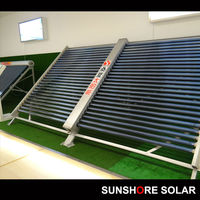 SUNSHORE Double Wings Module (Square Manifold) project solar collector