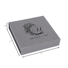 wholesale necklace product packaging merchandise box