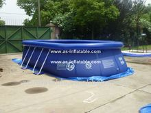 professional design above ground swimming pool frame pols