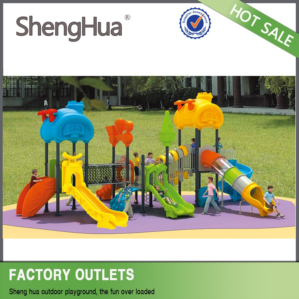 Plastic Outdoor Climbing playground safety tile