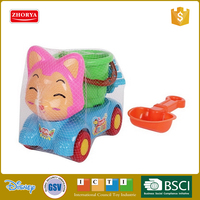 cartoon toy truck cheap plastic toy trucks toy transport truck funny beach play set sand play set