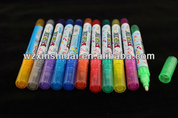 High Quality Non Toxic Glitter Marker For Wholesale