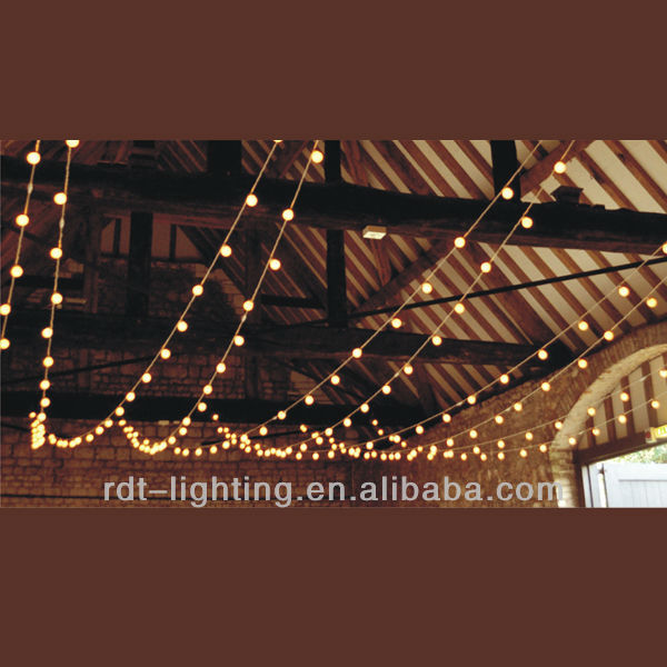 LED Festoon Ball Lighting-60mm string