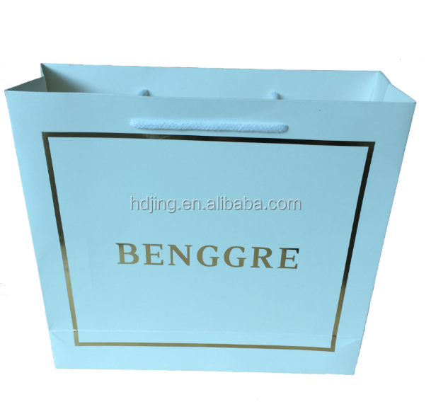 New Simple square paper bag buy direct from china factory