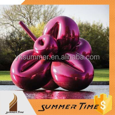 Purple balloon sculpture