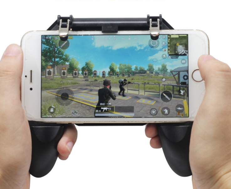 gamepad with trigger mobile <strong>phone</strong> stents controller button joystick <strong>phone</strong> for iphone android joystick &amp; game