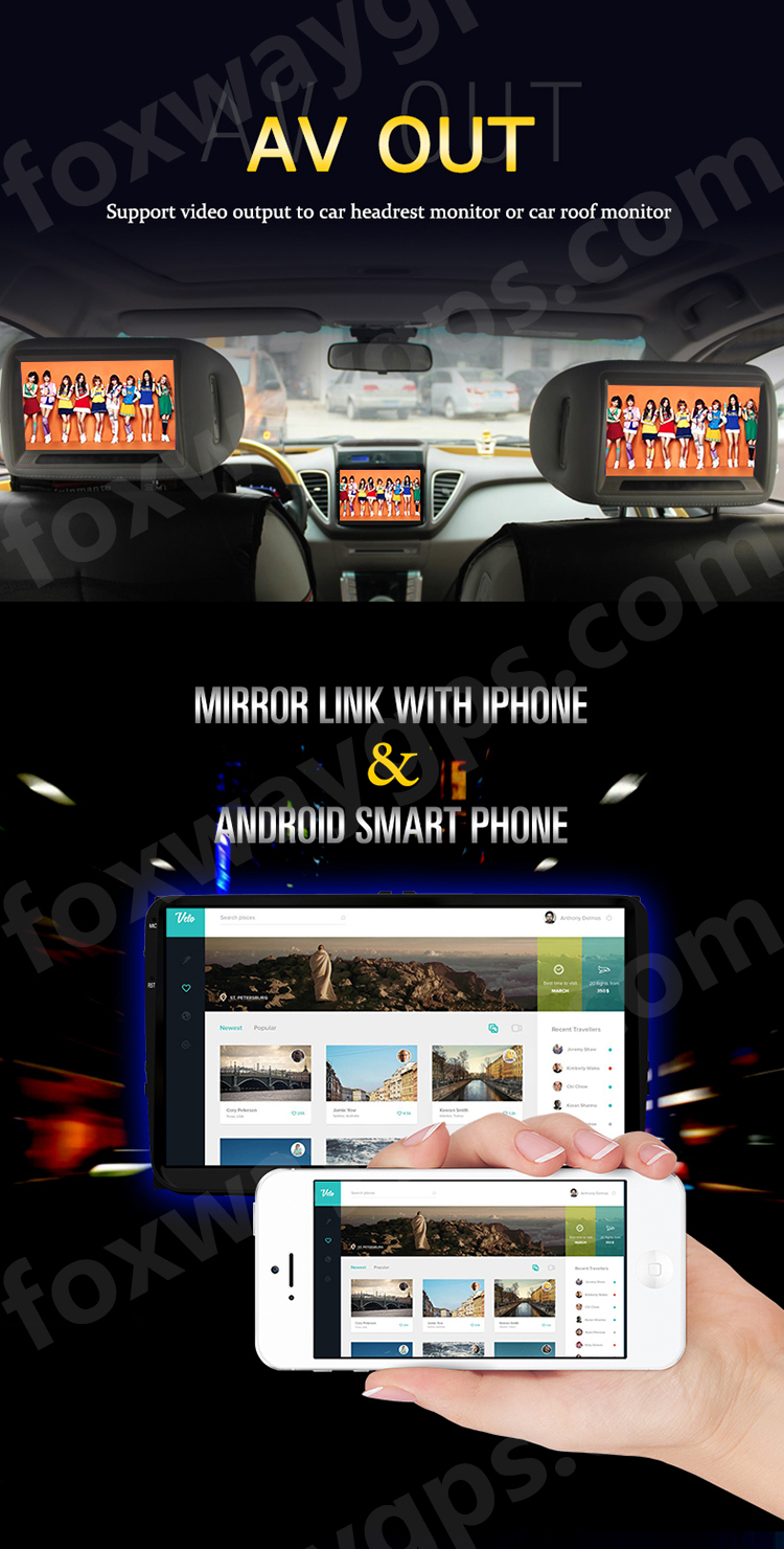 STF1001 all-in-one safe driving solution android car radio system for Hyundai Santa Fe for Hyundai Tucson 2019