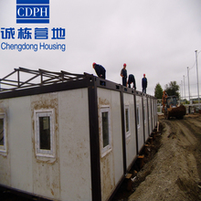 High quality ISO standard prefabricated container house for shop