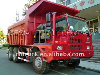 Sinotruk Howo 60 ton 6x4 Mining dump truck for sale