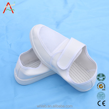 High Quality autoclavable anti bacteria antistatic cleanroom esd shoes