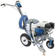 Graco cold spray road marking machine