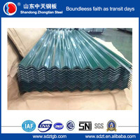 hot sell Galvanized corrugated iron sheet for roofing gold supplier