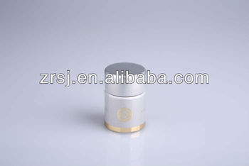 Factory direct customized silver aluminum and plastic bottle cap for vodka wisky brandy