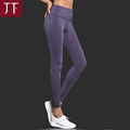 Custom Yoga Wear Drop Shipping Teen Lycra Purply Custom Yoga Pants