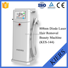low level power laser /medical 808nm laser black skin hair removal device