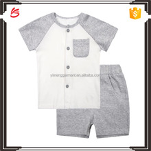 2017 Hot sale baby clothes set custom model dress for boys