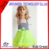 2014 high quality baby dress children frocks designs 2013