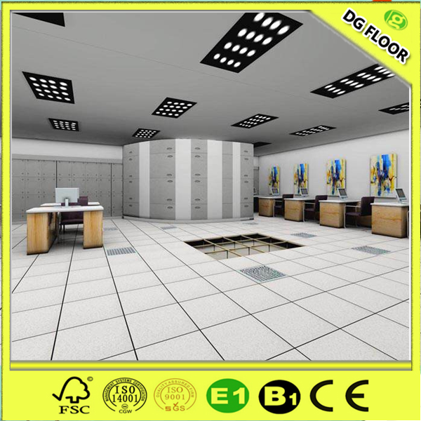 Floor Perforated Tiles Server Rooms : Hpl finish perforated steel data center raised floor tiles