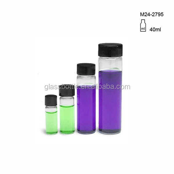 15ml glass vial with screw cap&essential oil tube bottle