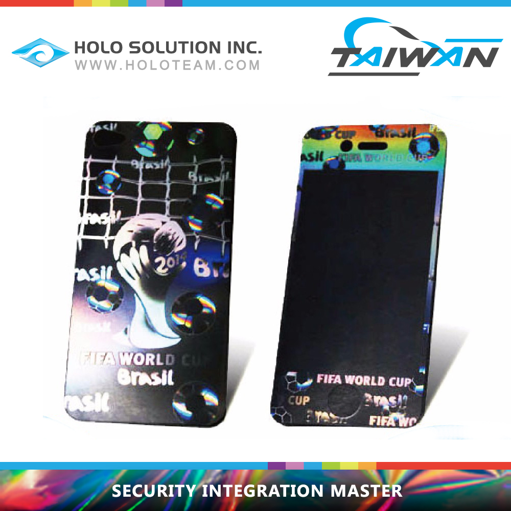 Transparent Hologram Cell Phone Screen Protector