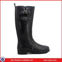 Girl Half Boot Wellies with Buckle