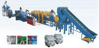 PP PE Film Washing and Recycling Line/plastic waste film recycling machine